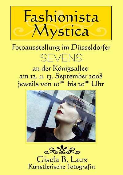 Fashionista Mystica – Fotoausstellung im Düsseldorfer SEVENS