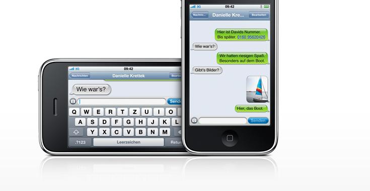 Was bist du ohne I Phone, was mit?
