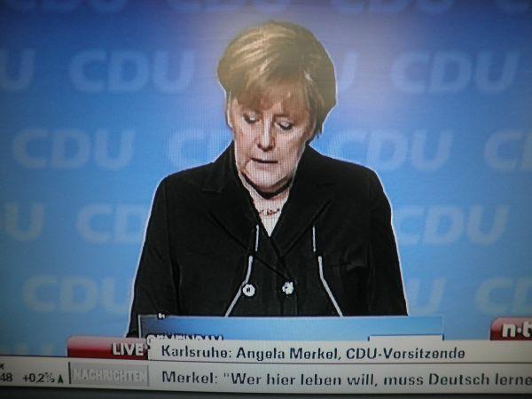 Merkels dramatischer Meilenstein