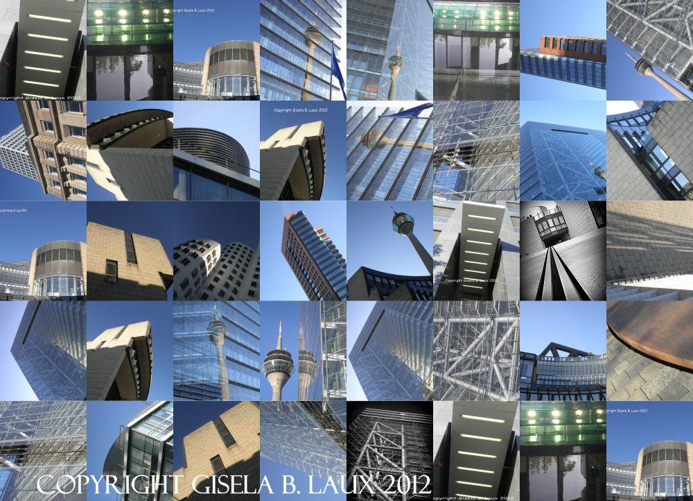 Glückstreffer, wo man hinschaut: ArchitekTour Düsseldorf 2012