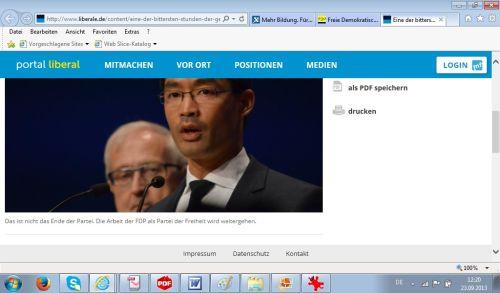 FDP überqualifiziert: Bundesvorstand geht